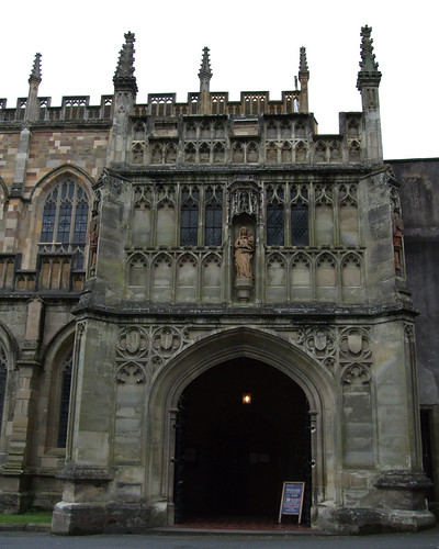 The Main Entrance, Great Malvern Priory, Worcestershire.