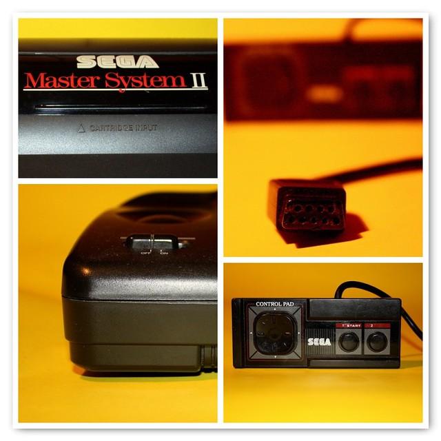Sega master system ii 1990 flickr photo sharing - Console sega master system 2 ...
