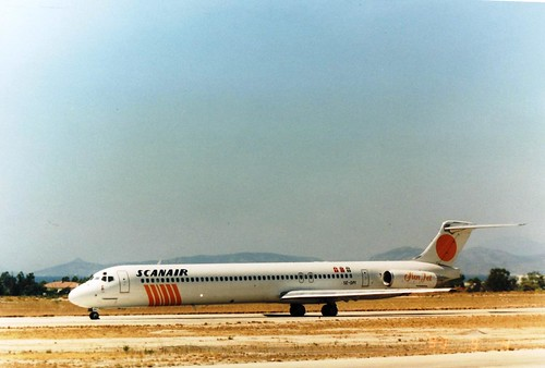 SCANAIR MD83 SE-DPI(cn1436)