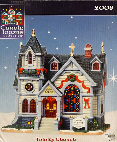 Carole towne collection christmas village piece for lowe s in 2008