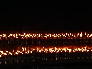 Swayambanuth-lights