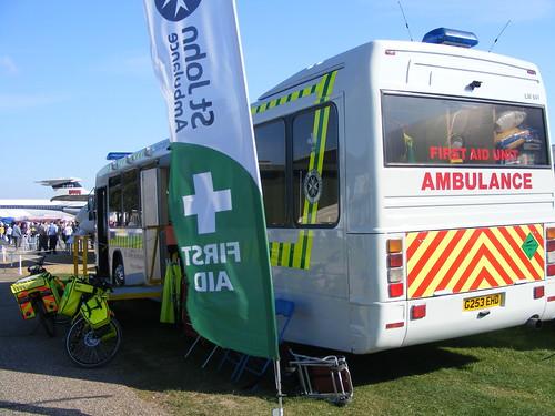 St John Ambulance photo