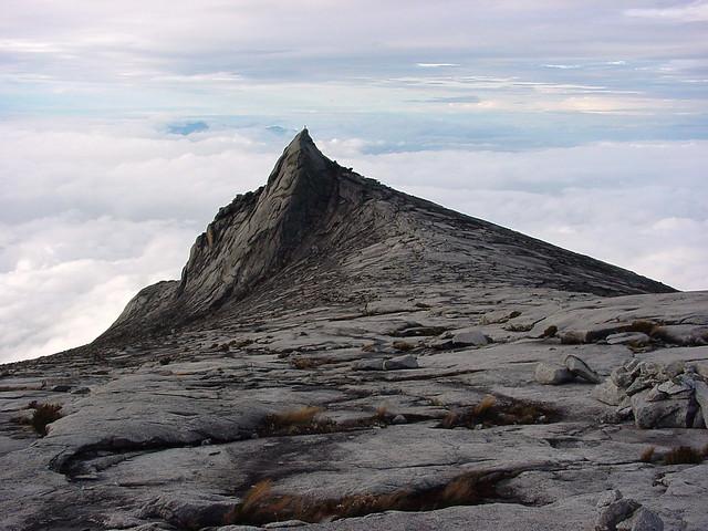 Descending Mount Kinabalu