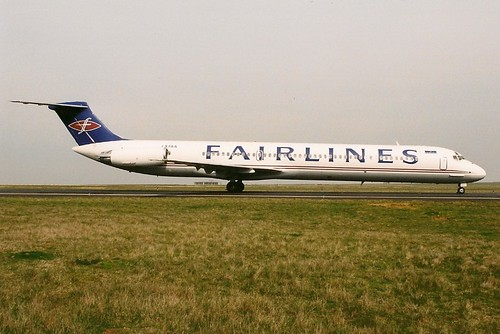 FAIRLINES MD81 LX-FAA