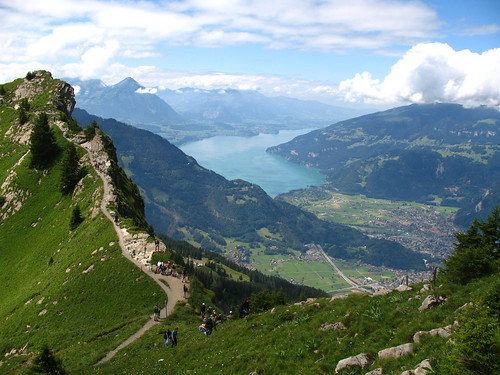 IMG_5843 - Schynige Platte - Interlaken, Thunersee, Abendberg, and Morgenberghorn viewed from Oberberghorn