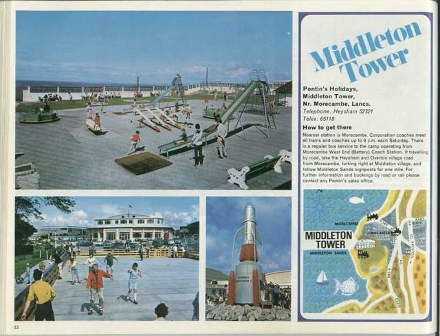 Pontins Brochure 1972 Middleton Tower Flickr Photo Sharing