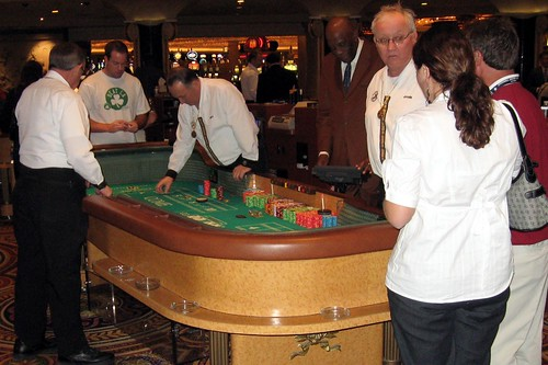Craps table, Caesars Palace