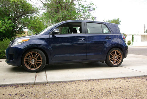 2008 Scion Xd New Rims And Tires Flickr Photo Sharing