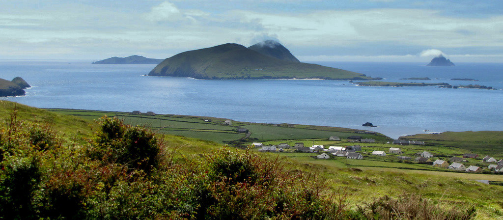 View to the Blasket Island