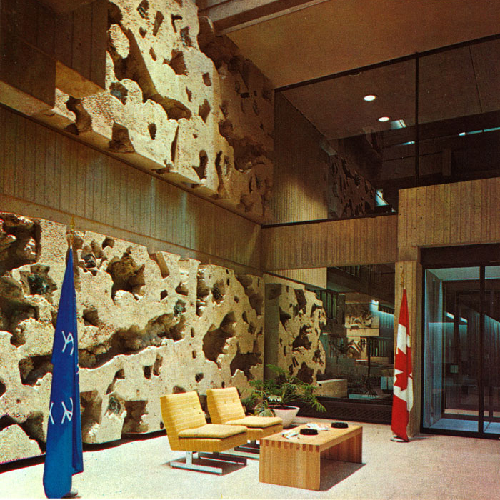 The Administration and News Pavilion (Expo 67)