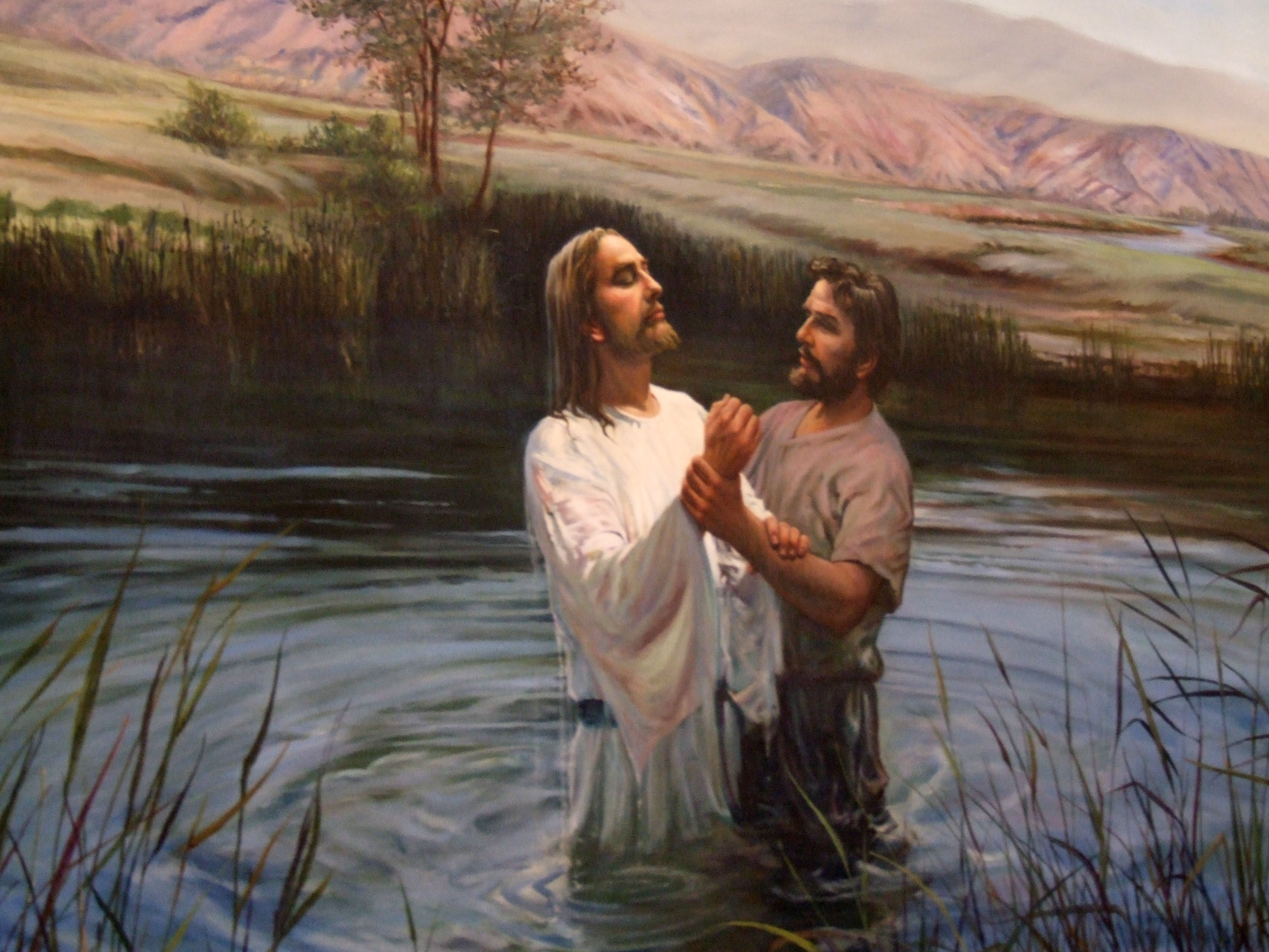 an introduction to the baptism of jesus Introduction: context and parameters  followers of jesus christ even so, the timing of most  muslim background believers and baptism in cultures.
