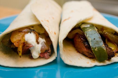 Fajitas de Pollo | Deliciosas Fajitas Mexicanas con Guacamole