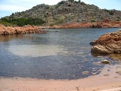 La crique d'A Tavonata depuis sa plage Sud