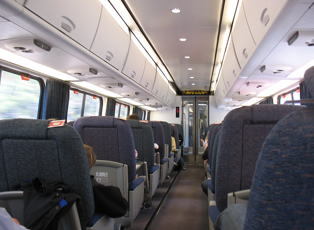 Amtrak Acela Express interior