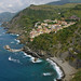 Riomaggiore and the coast of the Cinque Terre