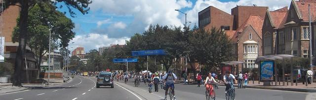 Ciclovia, Bogota, Colombia