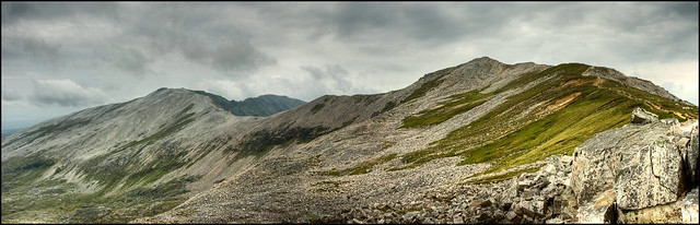Ben More Assynt & Conival Panorama