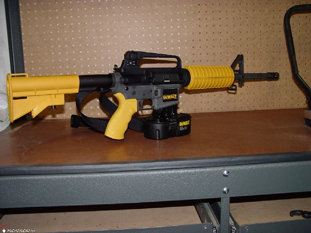 dewalt machine gun nail gun for sale