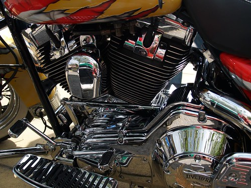 Harley Davidson Engine