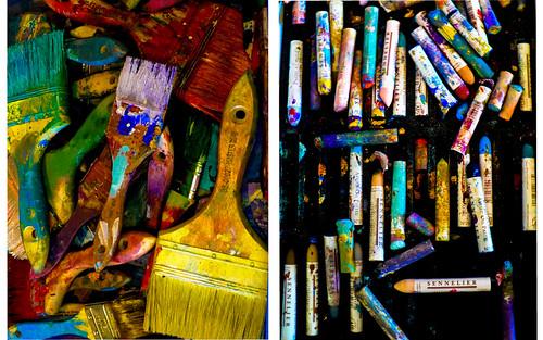 california art collage photoshop studio monterey paint pastels layers sandcity artwinefestival westendcelebration didyounoticeihavelearnedsomethingnew
