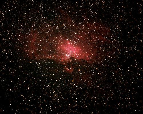eagle nebula astrophotography astronomy cosmos meade lxd75 spacephoto