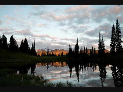 Tipsoo Lake Sunrise Video