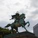 Samurai on horse by IzuenGordelekua