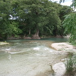 San Marcos River, downstream
