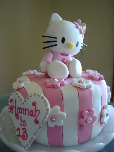 Birthday Cake Pictures Hello Kitty : Hello Kitty Birthday Cakes - Best Collections Cake Recipe