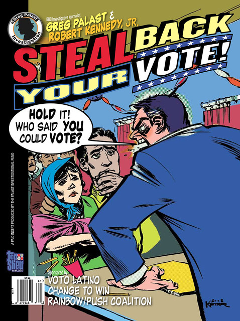 Steal Back Your Vote! the Investigative Comic Book