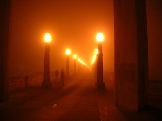 Zaragoza niebla