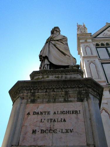 Dante's Statue