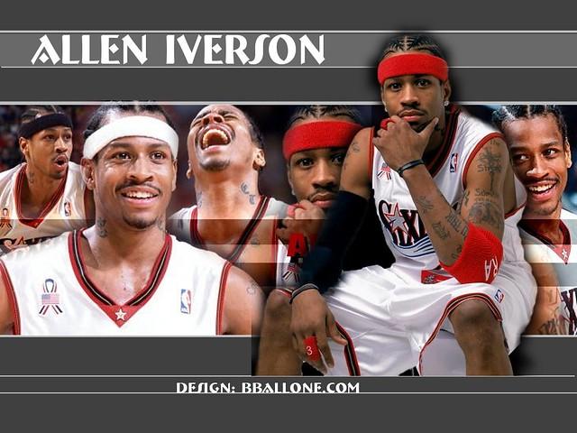 allen iverson wallpaper 76ers. ...