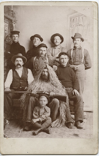 Odd Group Photo, Hunting Party