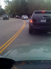 Fighting Beverly Glen traffic...again