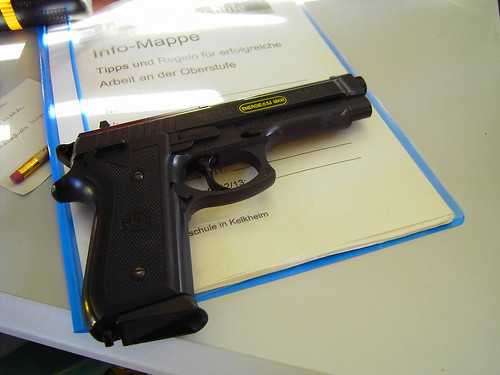 Handgun -- or: How to be successful at school...
