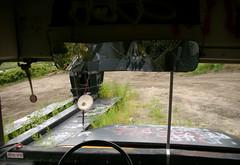 Staging Area - School Bus - Rear-View Mirror