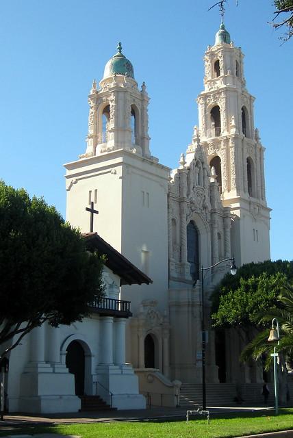 San Francisco. Mision Dolores Basilica