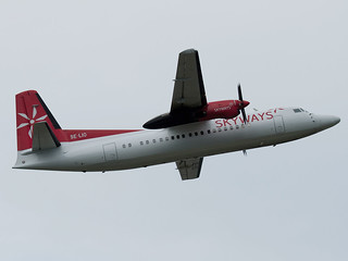 Skyways Fokker 50