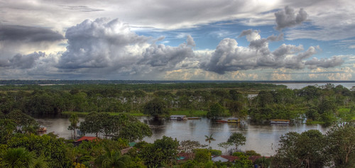 brazil panorama peru clouds america river puerto amazon colombia view sony south wide alpha americas settlement 580 mariusz narino a580 kluzniak
