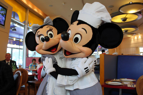 Chef Mickey and Minnie