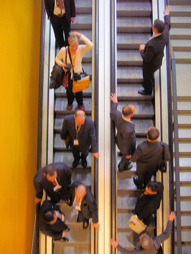 Escalator at ECR 2008
