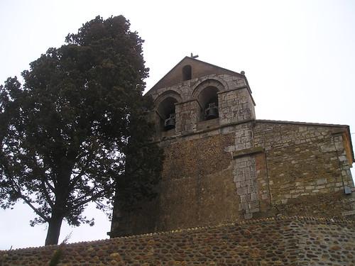 Villanuño de Valdavia (Palencia). Santa Eufemia. Espadaña