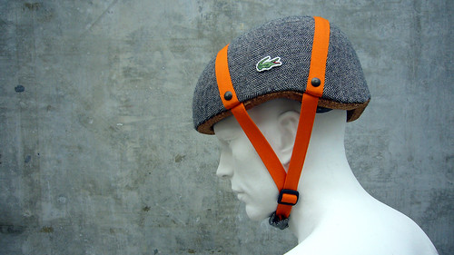 Lacoste Cork Bicycle Helmet Concept