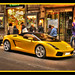 Yellow Lamborghini in Rome by Mike G. K.