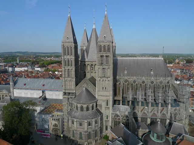 Tournai, cathédrale Notre Dame, transept  sud,  South transept