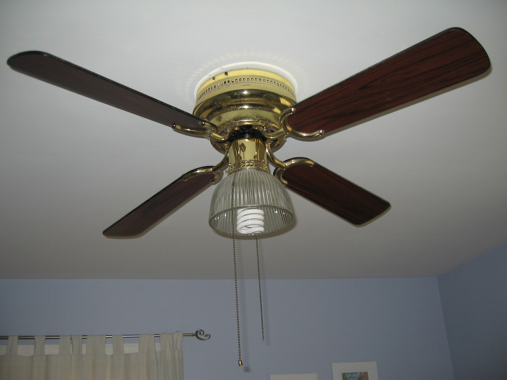 Minhus new ceiling fan i 39 m still not happy for Bedroom ceiling fans