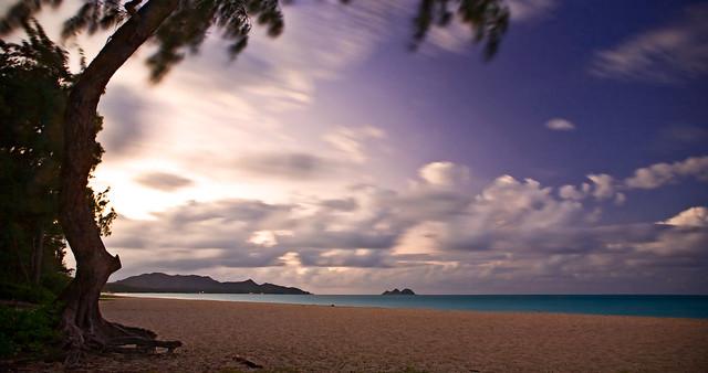 Waimanalo Beach and the Windward Skies!