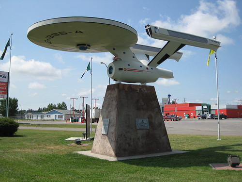 Starship in Vulcan, Alberta