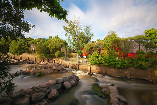 longexposure summer water finland river helsinki scenery outdoor sigma rapids vanhankaupunginkoski sigma1020mm vanhakaupunki nd1000